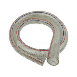 4 versterkte de Duidelijke Spiraal van pvc van de duim Flexibele VacuümSlang