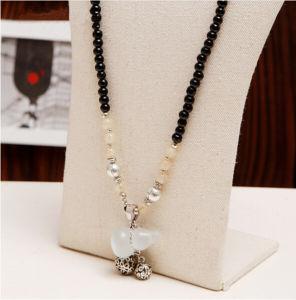 Collana di cristallo creativa della pietra preziosa di modo lungo