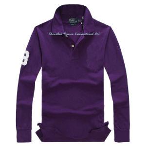 Camisa Polo masculino com logotipo de enfeite