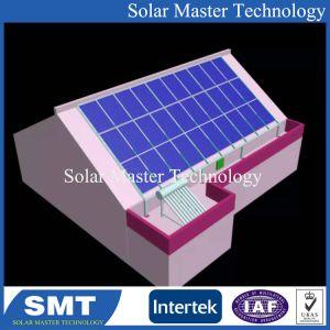 Sur la grille du système d'énergie solaire 5kw 3kw, support de masse solaire Système Solaire