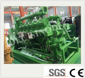 セリウムISO SGSの証明書が付いている500kw天燃ガスの発電機セット