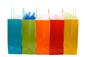 Paper variopinto Gift Shopping Bag con Competitive Price