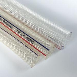 El PVC de acero inoxidable de alta presión de la manguera de agua con bajo precio