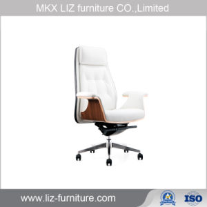 أثاث لازم حديث بيضاء اعملاليّ تنفيذيّة جلد رئيس مكسب كرسي تثبيت ([187ا])