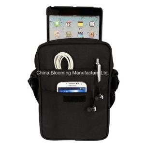 Bolso del iPad del mensajero de Crossbody del hombro de la honda del ordenador portátil del negocio