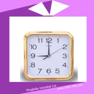 Plástico de la plaza del reloj con calendario electrónico PC-004
