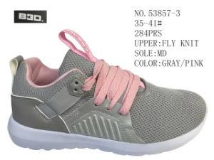 Trois couleurs 35-41 n° Fly tricot de chaussures de sport Lady chaussures supérieur