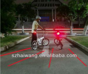 Светодиод безопасность лазера велосипед задние габаритные огни