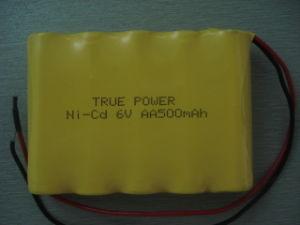 Ni CD 건전지는 원격 제어 배를 위한 9.6V 800mAh를 포장한다