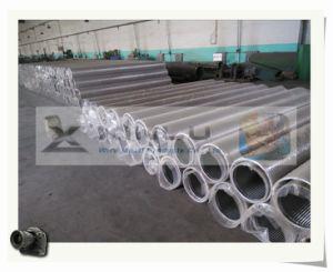 Soudés en acier inoxydable en forme de V sur le fil de l'eau et des écrans