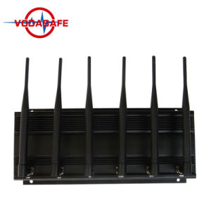 Binnen GPS van UHF/van VHF Stoorzender 6 van het Signaal Band met Hoge Macht, Cellulari Stoorzender GSM/UMTS/3G - GPS - WiFi/Bluetooth - Telecomandi 315MHz 433MHz 868MHz