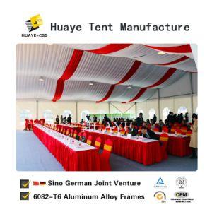 Grande evento exposições tenda com cortinas e Decoração para venda