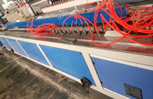 Painel de parede de PVC Perfil de Janela de PVC WPC Perfil em deck produção linha de máquinas de extrusão