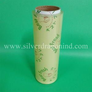Film transparent en PVC de qualité alimentaire avec la meilleure impression logo frais