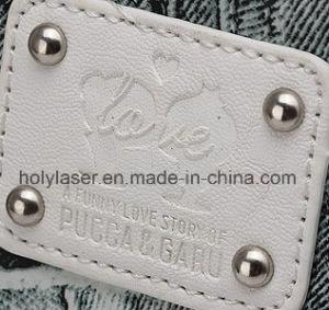 Кожаная сумка пластмассовые украшения обувь лазерной гравировки маркировки оборудования на заводе