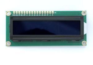 白いLEDのバックライトが付いているISO/RoHSの文字LCDモジュール16*2、