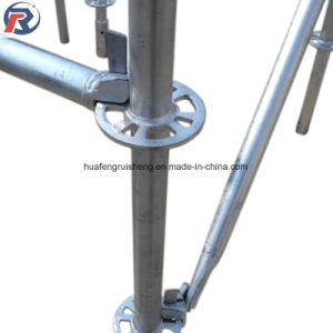 Tipo de andaimes Ringlock modular com Alta Resistência