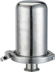 Custodia di filtro sanitaria dello sfiato dell'aria e del gas