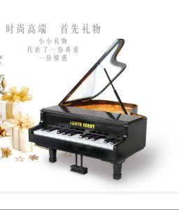 Tocar el piano de la luz de noche LED lámpara de escritorio, panel táctil de la luz Power-Saving