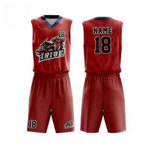 Mettez votre logo Photos maillots de basket-ball personnalisé