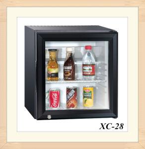 28L porta transparente Mini frigorífico Chiller de absorção