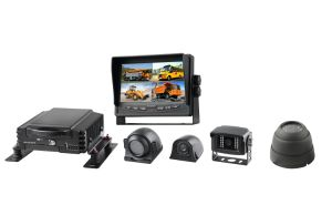 4CH HDD Auto Mdvr Installationssatz mit Doppel-Ableiter-Karte unterstützt 3/4G, GPS und Wi-FI