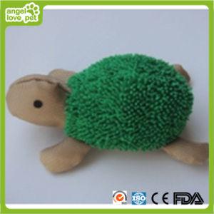 Giocattolo molle dell'animale domestico del giocattolo della tartaruga della peluche del cane