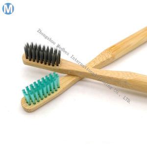 Houtskool van de Tandenborstel van het Bamboe van de Douane Eco van het Embleem van het Etiket van de fabrikant de Privé Organische