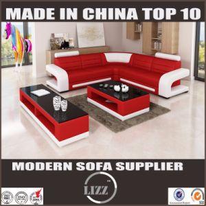 Modernes Hauptmöbel-Oberseite-Leder-Sofa für Wohnzimmer