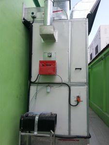 Cabine de Pintura Downdraft Autobody de pintura do veículo