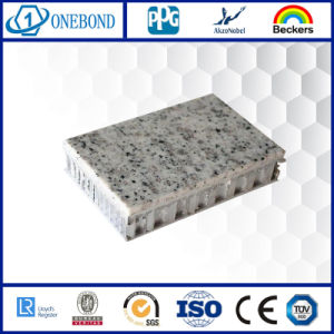 Architecture de marbre pierre panneau alvéolé