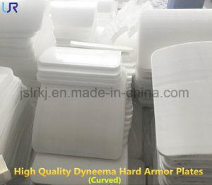 Inj III POLYUREA COATING Disque les plaques d'armure Bulletproof UHMWPE de bord