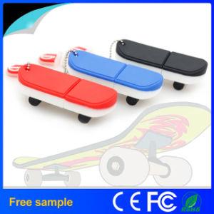 Мода подарок популярных роликовой доске форма ПВХ флэш-накопитель USB