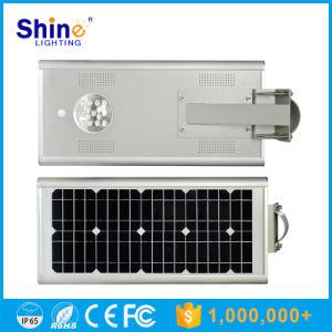 Intégré Tous les dans un rue lumière extérieure du capteur de mouvement Lampe Solaire de Jardin 15W à LED solaire éclairage de rue