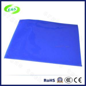 De blauwe Wasbare Zelfklevende Mat van het Silicone (egs-BM01)