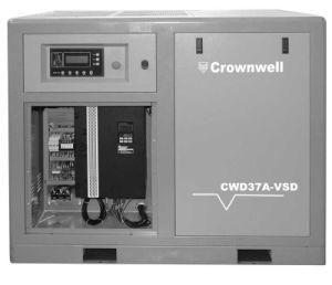 Crownwell винтовой компрессор с переменной частотой вращения - прямое соединение типа (CWD22A-VSD - CWD400A/W-VSD)