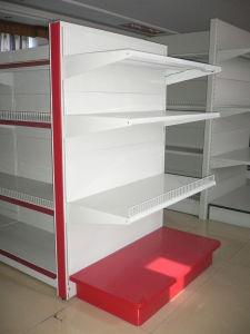 Métal Gondola Display Shelvings pour le commerce de détail de Supermarket