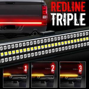 3Wは三重のジープのラングラーLEDテールライトを赤線を引いて削除する