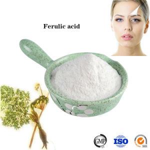 Grado de cosméticos de alta pureza polvo ácido ferulic CAS 1135-24-6
