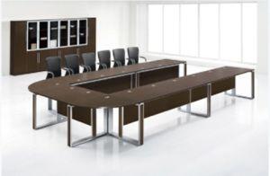 Bureau de la mélamine moderne en forme de u table table de réunion