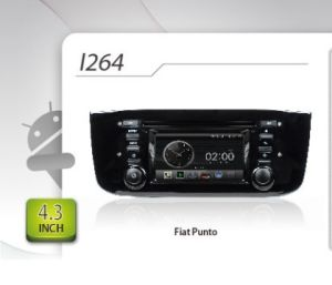 Android puro Car DVD per FIAT Punto GPS Navigation