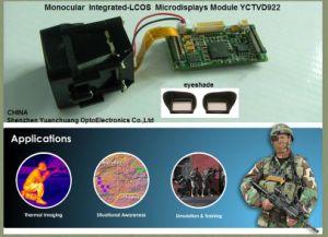Monocular Integriertes-Lcos Microdisplays Modul (YCT922)