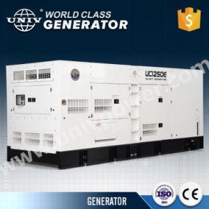 10kw/12.5kVA Perkins 엔진 Denyo 디자인 침묵하는 유형 디젤 발전기