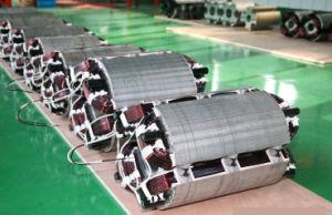 Kupferne Draht-schwanzloser synchroner Self-Exciting dreiphasigwechselstromerzeuger China-100%