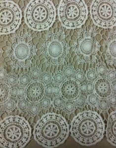 Tissu de coton à 100 % de la mode d'accessoires pour vêtements de dentelle robe (BP-034)