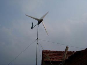 Générateur entraîné par le vent (1kw)