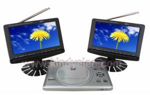 차 & 가정 사용 (Kd200-707DVB)를 위한 이중 7inch DVB-T를 가진 휴대용 DVD