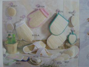Esponja de masaje productos