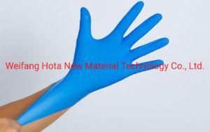 Excelente calidad de nitrilo desechables Guantes de examen aprobado ISO