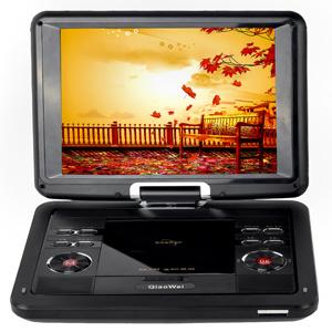 12.1는 조금씩 움직인다 TFT 스크린 (1201년)를 가진 휴대용 DVD 플레이어를